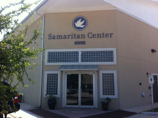 photo of the front of the Samaritan Center office in Austin